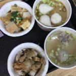 公館夜市(国立台湾大学の近く)で食べたある晩の夕飯について